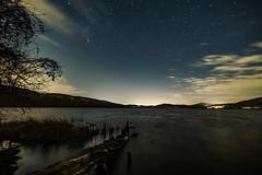 Sternenhimmel über dem Laacher See (clemensgilles) Tags: longexposure darkness beautiful amazing nightphotography nachthimmel astrophotographers astrofotographie winter lake lakeside see stargazing sternenhimmel deutschland eifel germany