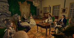 Music Soirée (Sofia ~Chateau D'Esprit~) Tags: stpetersburginsl rp sl secondlife roleplay 18th century rococo baroque russia saint petersburg sheremetev tzarevna natalya razumovsky graf highness affair maybe gossip music soiree evening event