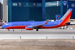 Southwest Airlines   Boeing 737-800   N8617E   Las Vegas McCarran (Dennis HKG) Tags: aircraft airplane airport plane planespotting canon 7d 100400 lasvegas mccarran klas las southwest southwestairlines swa wn boeing 737 737800 boeing737 boeing737800 n8617e