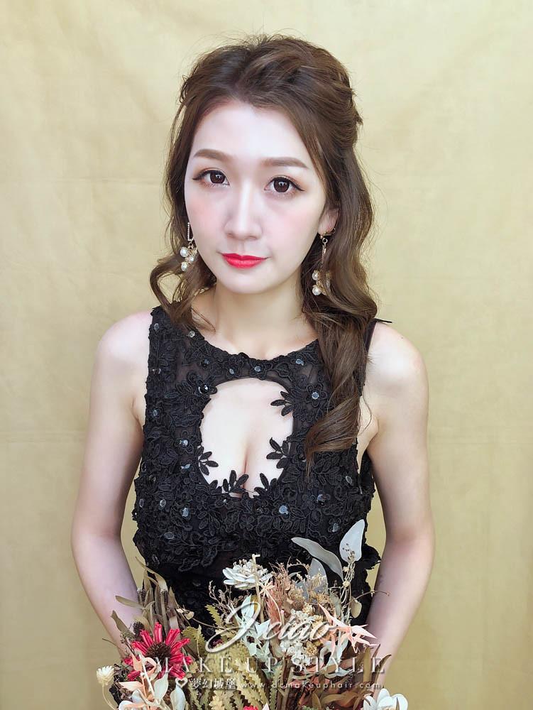 【新秘婕喬】新娘造型創作 / 高雅公主頭