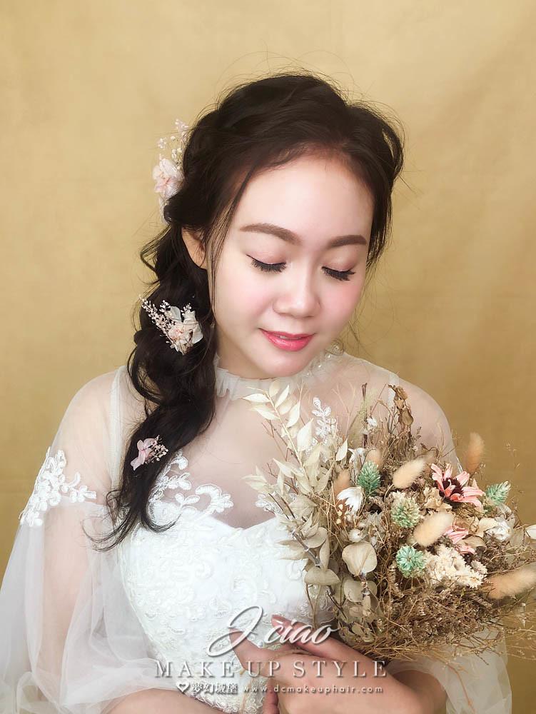 【新秘婕喬】新娘造型創作 / 唯美浪漫風