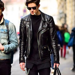 leather jacket mens (devilsondotcom) Tags: leather jackets mens fashion stylish cool biker motorcycle motogp
