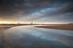 Sandymount Vista (Kevin.Grace) Tags: dublin ireland sandymount sunset poolbeg clouds landscape seascape