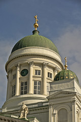 A9753HELSb (preacher43) Tags: helsinki finland senate square building architecture cathedral kruununhaka sky clouds