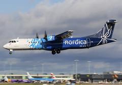 Nordica ATR72-600 ES-ATA (birrlad) Tags: dublin dub international airport ireland aircraft aviation airplane airplanes airline airliner airlines airways arrival arriving approach finals landing runway atr atr72 atr72600 nordica esata
