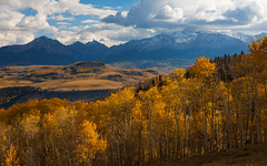 Paint the essential character of things… (ferpectshotz) Tags: ridgway colorado fall fallfoliage fallcolrs sanjuanmountains sneffelsrange autumn colors snowcappedmountains peaks fourteeners