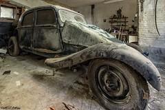... (Captured Entropy) Tags: lostplace urbex decay abandoned derelict car oldtimer