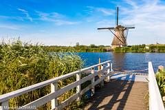 Kinderdijk, Netherlands (Manuel ROMARIS) Tags: netherlands windmill kinderdijk
