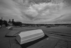 DSC01326 (Damir Govorcin Photography) Tags: watsons bay sydney blackwhite monochrome boats water sky clouds wide angle sony a7rii zeiss 1635mm