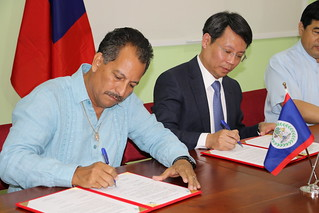 MOH and Taiwan Agreement Signing