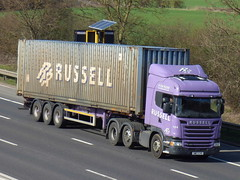 SM17CVO (47604) Tags: sm17cvo 104 russell scania lorry truck container
