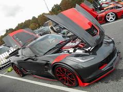 2017 Chevy Corvette Grand Sport (splattergraphics) Tags: 2017 chevy corvette grandsport c7 carshow beersgears delawarepark wilmingtonde