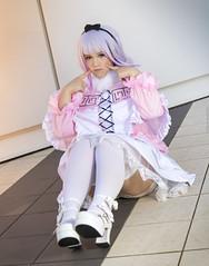 _MG_0218 (Mauro Petrolati) Tags: gumiku cosplay cosplayer kanna kamui miss kobayashi maid dragon romics 2018 loli cute