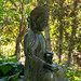 Buddha chillin' in the forest