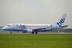 Flybe G-FBJE Embraer ERJ-175STD (ERJ-170-200) cn/17000336 @ Aalsmeerbaan EHAM / AMS 03-11-2017 (Nabil Molinari Photography) Tags: flybe gfbje embraer erj175std erj170200 cn17000336 aalsmeerbaan eham ams 03112017