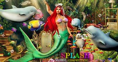 Splash 50,000L Photo Contest Round 7 (ᴄɪɴɴᴀᴍᴏɴ ᴄᴏᴄᴀɪɴᴇ) Tags: little mermaid disney secondlife second life mermaids ocean dolphins sintiklia
