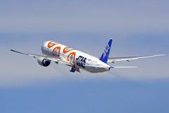 Boeing 777-381/ER, JA789A, All Nippon Airways (Star Wars BB-8 Livery) (tkosada.mac) Tags: allnipponairways staralliance starwarsbb8livery starwars tokyointernationalairport hanedaairport hnd rjtt