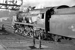 29/02/1964 - Southampton (Central), Hampshire. (53A Models) Tags: britishrailways bulleid southernrailway westcountry wc 462 34040 crewkerne steam passenger southampton hampshire train railway locomotive railroad