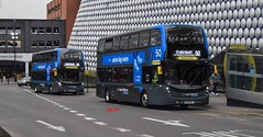 6907 National Express West Midlands (KLTP17) Tags: sk68mfj adl enviro400 platinum nxwm birmingham 50 6907 68reg bus new westmidlandsbus