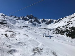 Courchevel Snow Park (Marc Sayce) Tags: spring march 2019 mountains snow park snowboarding skiing ski resort three valleys trois vallées savoy savoie courchevel