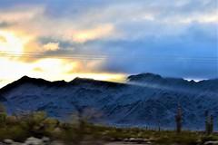 Ray of light (thomasgorman1) Tags: mountains mountain nikon light sun sunray clouds lines cactus desert motion sunset nature