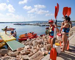 30. Kayak por Menorca (Diario de un Mentiroso) Tags: menorca