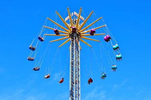 Fairground Attraction - Dam Amsterdam