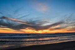 Coronado Springs (dweible1109) Tags: nature waves ocean beach 18140mmnikkor d5600 nikon scenic landscape skyscape skyline sky cloudscape clouds westcoast pacificocean magichour sunset coronadosprings california