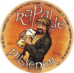 Netherlands - Stadtsbrouwerij De Kromme Jat (Groningen) (cigpack.at) Tags: netherlands holland niederlande stadtsbrouwerij dekrommejat groningen rapalje pilsener bier beer brauerei brewery label etikett bierflasche bieretikett flaschenetikett