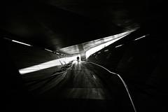 Passageway (reiko_robinami) Tags: street streetphotography silhouette shadow passage monochrome blackandwhite urban cityscape yokohama japan