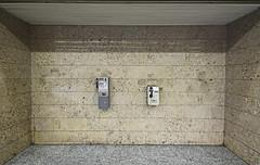 Endless Battery Power (CoolMcFlash) Tags: phone public vienna minimalistic minimalism minimalistisch simplicity negativespace copyspace wall telefon öffentlich wien fotografie photography canon eos 60d sigma 1020mm 35 city citylife