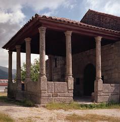 The porch (lebre.jaime) Tags: portugal beira covilhã ourladyofthecalvary hasselblad 503cx planar cf2880 film film120 120 analogic mf middleformat kodak portra160120 chapel epson v600 affinity affinityphoto 6x6