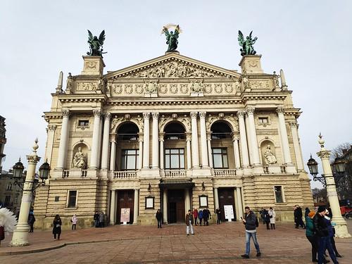 Lemberg Opernhaus