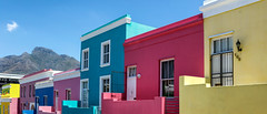 Bo-Kaap (Trouvaille Blue) Tags: africa southafrica bokaap neighborhood malaysian houses colors tablemountain trouvailleblue city colorfulhouses colourful quarter