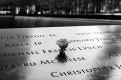 In Memoriam (Pepe Soler Garcisànchez) Tags: ilce7m3 bn newyork nyk2018 sony55mm nuevayork sonnar za broadway bw jfk memorial 911memorial 11smemorial