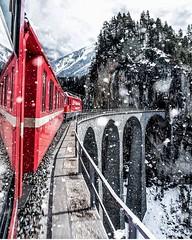 Schweiz - Landwasser Viaduct (monte-leone) Tags: landwasserviaduc landwasserviaduct schweiz switzerland suisse panorama skyline night bei nacht almhütten almrausch almabtrieb almdörfer alm almdorf dorf bernina bahn glacier express sankt moritz graubünden matterhorn zermatt wengen grindelwald landscape landschaft gebirge schweizer berge bern basel zürich moritzsee jungfrau eiger nordwand lauterbrunnen lauberhorn mountain gebirgs blumen