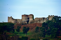 Beeston Castle (Eddie Crutchley) Tags: europe england cheshire outdoor castle ruins historicbuilding blueskies sunlight simplysuperb greatphotographers