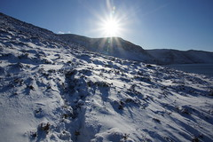 Sunshine and Snow (steve_whitmarsh) Tags: aberdeenshire scotland scottishhighlands highlands mountain winter snow glen cairngorms topic