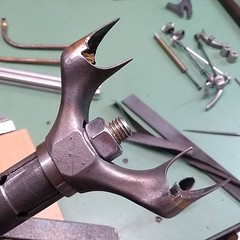 Modifying a C67 crown #rahmenbau #ccycles #steelisreal