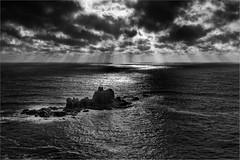 Lands End (photographybytomlane) Tags: leica leicasl landsend cornwall monochrome blackandwhite sky seascape