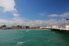 2018_08_15_0034 (EJ Bergin) Tags: sussex westsussex worthing beach seaside westworthing sea waves watersports kitesurfing kitesurfer seafront thepier lewiscrathern jezjones