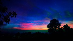 Twilight (Iforce) Tags: twilight landscape wallpaper art design digital clouds lights colors stars forest horizon awa awardtree