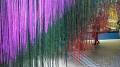 Géométries Sud du Mexique à la Terre de Feu, Paris Fondation Cartier (Sokleine) Tags: sud south géométrie geometric shapes formes couleurs colors fondationcartier cartier museum musée art contemporary contemporain paris 75014 france abstract abstrait quadrillage croisillons
