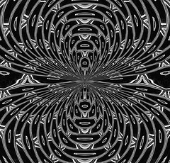 Eminating from a single point (FotoGrazio) Tags: high abstract highcontrast photoeffect stoned psychedelic contrast monochrome waynegrazio hypnotized artwork tripping filterforge photomanipulation graphicresources pattern waynesgrazio alternatereality texture graphicdesign painterly waynestevengrazio topazadjust symmetrical mesmerizing fotograzio phototoart hypnotic trippy art blackandwhite geometry surreal