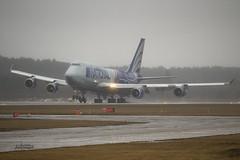 IMG_2754@L6 (Logan-26) Tags: boeing 747428bcf n919ca msn 25302 national airlines in rain snow riga international rix evra latvia airport winter aleksandrs čubikins weather