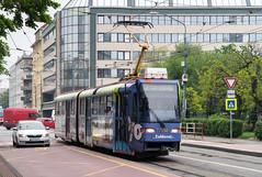 Bratislava tramway: Tatra K2S # 7130 (Amir Nurgaliyev) Tags: dpb bratislavatramway tatrak2s