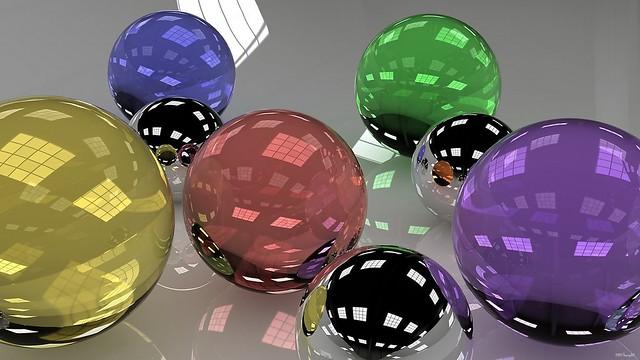 Обои шары, стекло, разноцветный, множество, размеры картинки на рабочий стол, фото скачать бесплатно