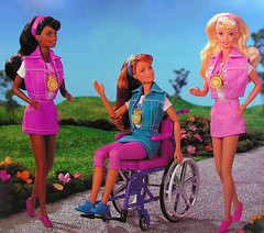 1996 Share a Smile Christie Becky Barbie (Barbie Collectors Guide '90s) Tags: 1996 share smile christie becky barbie