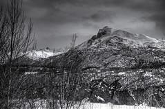 Across the River (tpeters2600) Tags: alaska winter mountains mantanuska mantanuskariver palmer canon eos7d hdr photomatix tamronaf18270mmf3563diiivcldasphericalif monochrome blackandwhite