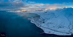 Grundarfjörður (Tómas Freyr) Tags: aerialphotograph iceland snaefellsnes snaefellsnespeninsula landscape landslag loftmynd loftmyndir snow vetur winter grundarfjarðarbær grundarfjörður snæfellsnes snjór